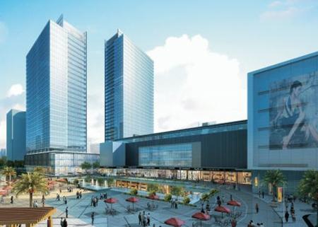 惠州华贸中心 — (地产综合体电气系统)